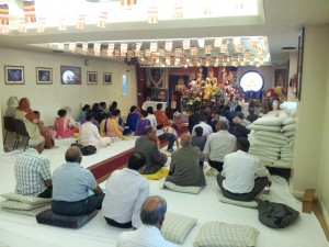 Members and Supporters in the Shrine Room