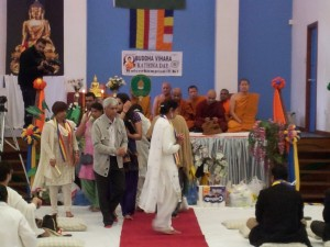 Wolverhampton Buddha Vihara Kathina Day Procession 3rd November 2013