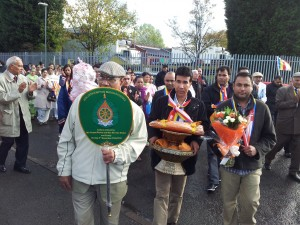 Wolverhampton Buddha Vihara Kathina Day Procession 3rd November 2013_2
