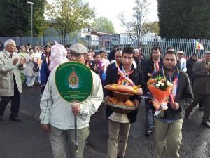 Wolverhampton Buddha Vihara Kathina Day Procession 3rd November 2013_2