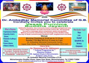 Buddha Jayanti 17th May 2015